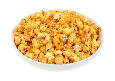 Cheddar Cheese Popcorn Hot Sauce Flavor Angle View Stock Photos