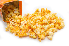 Cheddar Cheese Popcorn Royalty Free Stock Photo