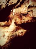 Cheddar gorge caving. Underground dark creepy nature stone naturally made royalty free stock photo