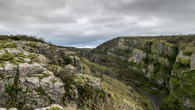 Cheddar Gorge stock video footage