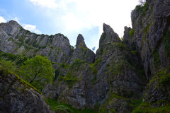 Cheddar gorge Royalty Free Stock Image