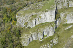 Cheddar Gorge. Mendip Hills, Somerset Stock Photos