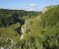 Cheddar Gorge. Mendip Hills, Somerset Stock Photo
