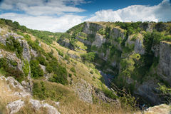 Cheddar Gorge, Somerset, England royalty free stock photography