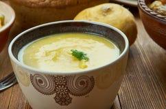 Cheddar irlandais Ale Soup images stock
