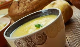 Cheddar irlandais Ale Soup photo stock