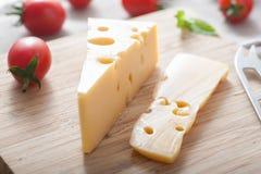 Cheddar-Käse Stockbild