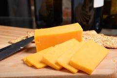 Cheddar-Käse Stockbilder