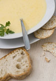 Cheddar Soup Royalty Free Stock Images