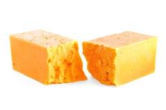 Cheddarkäse lizenzfreie stockfotografie