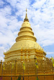 Chedee in lumphun Thailand. Chedee in lumphun of Thailand stock photos