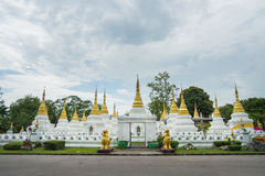 Chedee Sao temple Lampang, Thailand Royalty Free Stock Photos