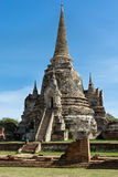 Chedi in Ayutthaya Stock Afbeeldingen