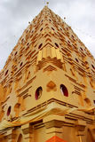 Chedi Buddhakhaya, built to mimic the Mahabodhi stupa of Bodhgay Stock Photo