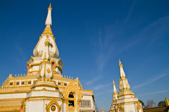 Chedi Chaimongkol at Roi et Province Thailand Stock Photo