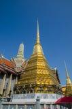 Chedi d'or de Wat Phra Kaew Bangkok Image libre de droits