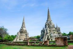 Chedi de Phra Sri Sanphet Imagen de archivo libre de regalías
