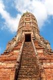Chedi de Wat Chaiwatthanaram Photo stock