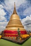 Chedi dorato di Wat Saket fotografia stock