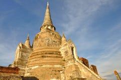 Chedi em Wat Phra Sri Sanphet imagem de stock