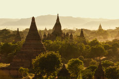 Chedi Field in Bagan Royalty Free Stock Photography