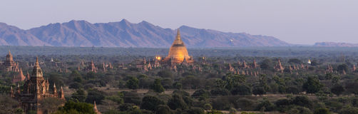 Chedi Field in Bagan Royalty Free Stock Images