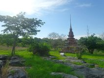 Chedi Liam of Asdang Temple Stock Images