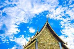 Chedi luang寺庙在Chiang Mai 库存图片