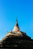 Chedi Luang, старая пагода Стоковое Изображение