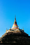 Chedi Luang, ancient pagoda Stock Image