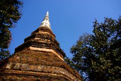 Chedi Luang, Chiang Sen Royalty Free Stock Photo