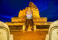 Chedi luang temple Stock Image
