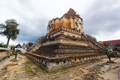 Chedi luang temple Royalty Free Stock Photos