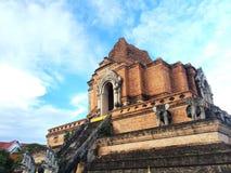 Chedi Luang Temple - Chiangmai. Chedi Luang Temple in Chiang Mai -Thailand stock image
