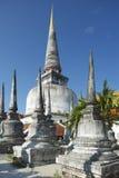 Chedi Phra Baromathat i Nakhon Sri Thammarat, Thailand royaltyfri foto