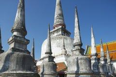 Chedi Phra Baromathat i Nakhon Sri Thammarat, Thailand arkivfoto