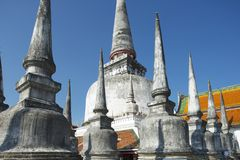 Chedi Phra Baromathat in Nakhon Sri Thammarat, Thailand stockfoto