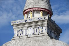 Chedi Phra Baromathat in Nakhon Sri Thammarat, Thailand. Royalty Free Stock Image