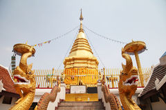 Chedi Phra That Doi Kham Royalty Free Stock Images