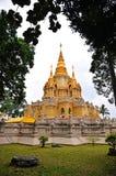 Chedi Phra mahathat του Βούδα Στοκ Εικόνες