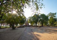 Chedi, Phra Ngam Temple, Phra Nakhon Si Ayutthaya Province, Thailand