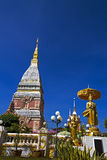 Chedi Phra That Renu blue sky Stock Images