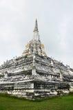 Chedi PhukhaoThong at  Wat Phu Khao Thong of Ayutthaya Thailand Royalty Free Stock Photo