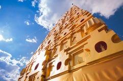 Chedi Prathat Phutthakhaya (pagoden) Fotografering för Bildbyråer