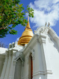 Chedi of Royal cemetry at Wat Ratchabopit Stock Photos