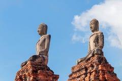 Chedi van Wat Chaiwatthanaram Royalty-vrije Stock Foto