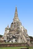 Chedi velho no templo de Phra Sri Sanphet Fotografia de Stock