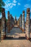 Chedi viejo (stupa budista) en Sukhothai, Tailandia Fotos de archivo libres de regalías