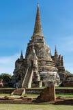 Chedi w Ayutthaya obrazy stock