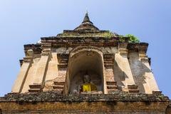 Chedi w Wacie Chedyod, Chiangmai Zdjęcia Stock